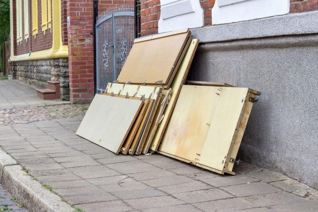 Disassembled Furniture